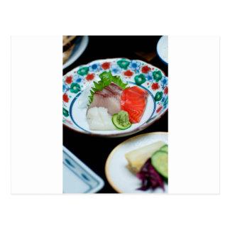 Sashimi. Post Cards