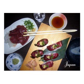 sashimi postcard
