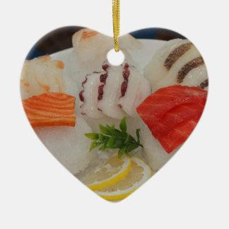Sashimi Sushi Time Ice Japanese Christmas Ornament