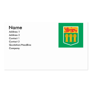 SASKATCHEWAN Double-Sided STANDARD BUSINESS CARDS (Pack OF 100)