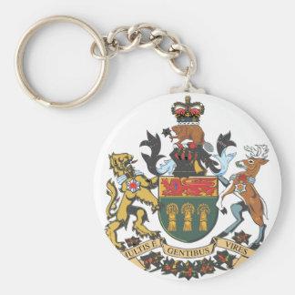 Saskatchewan (Canada) Coat of Arms Key Chain