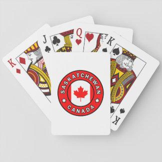 Saskatchewan Canada Playing Cards