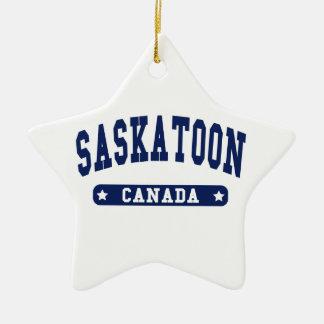 Saskatoon Christmas Ornament