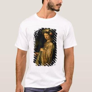Saskia as Flora, 1634 T-Shirt