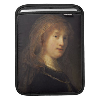 Saskia van Uylenburgh, c.1634-1640 (oil on panel) iPad Sleeve
