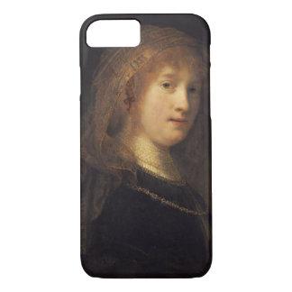 Saskia van Uylenburgh, c.1634-1640 (oil on panel) iPhone 8/7 Case