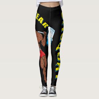 Sasquat Zoowear Fitness Character Leggings