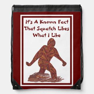 Sasquatch Bigfoot Yeti Cryptid Fun Squatch Facts Backpacks