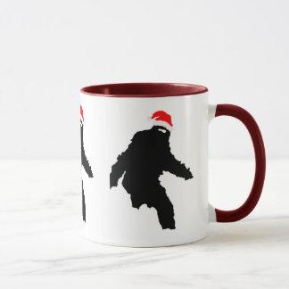 Sasquatch Claus Mug