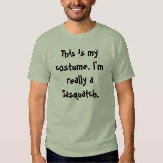 Sasquatch Costume Tshirt