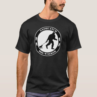Sasquatch Dog Walker T-Shirt