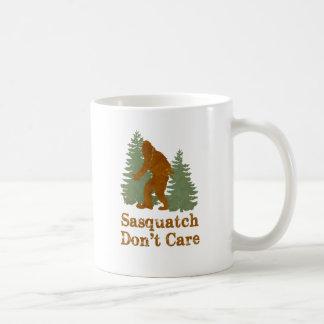 Sasquatch Don't Care Coffee Mug