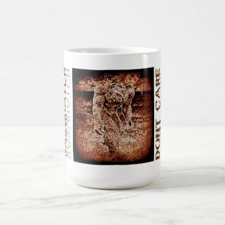 sasquatch Dont Care mug