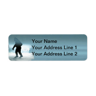 Sasquatch Encounter Return Address Label
