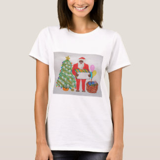 Sasquatch Father Christmas,.JPG T-Shirt