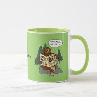 Sasquatch Gift Idea Funny Bigfoot Cartoon Mug