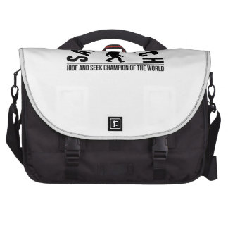 Sasquatch Hide And Seek Champion Of The World Laptop Bags