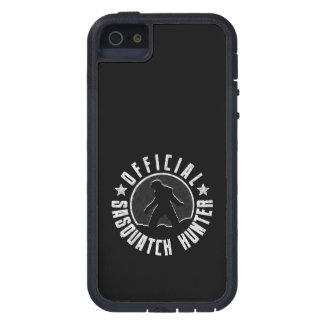 Sasquatch Hunter - Official Circle Logo iPhone 5 Cases