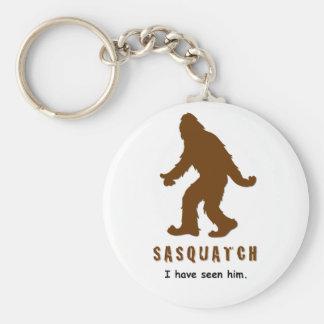 Sasquatch - I have seen him Keychains
