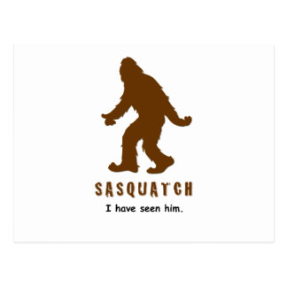 Sasquatch - I have seen him Postcard