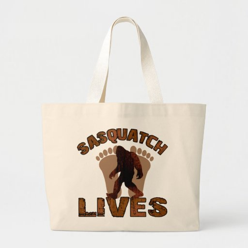 Sasquatch Lives Tote Bag