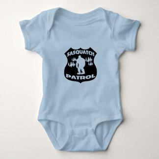 Sasquatch Patrol Forest Badge Baby Bodysuit