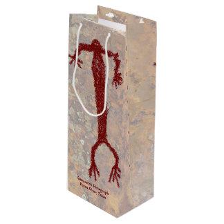 Sasquatch Pictograph Wine Gift Bag
