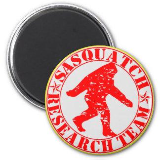 Sasquatch Research Team 6 Cm Round Magnet