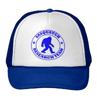 SASQUATCH RESEARCH TEAM - Bigfoot Pro s Blue Logo Mesh Hats