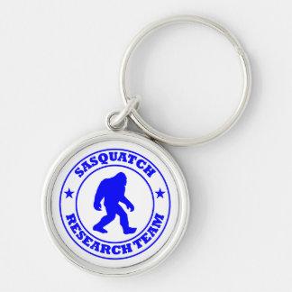 SASQUATCH RESEARCH TEAM - Bigfoot Pro s Blue Logo Keychain