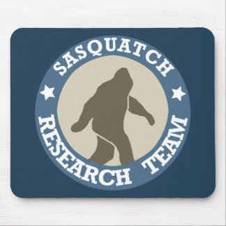 Sasquatch Research Team Mouse Mat