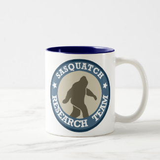 Sasquatch Research Team Two-Tone Coffee Mug