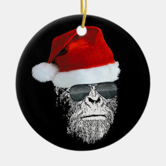 Sasquatch Secret Santa Christmas Tree Ornament