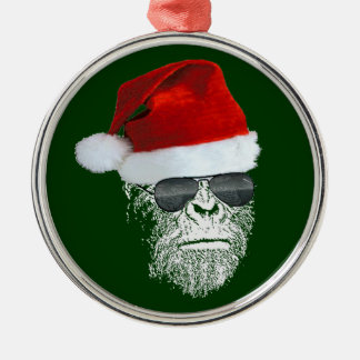 Sasquatch Secret Santa Premium Christmas Ornament