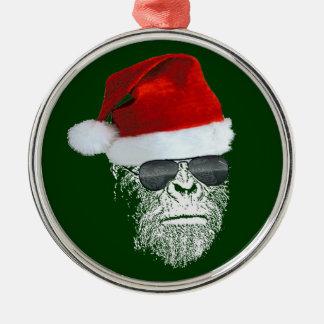 Sasquatch Secret Santa Premium Christmas Ornament
