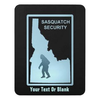 Sasquatch Security - Idaho Door Sign