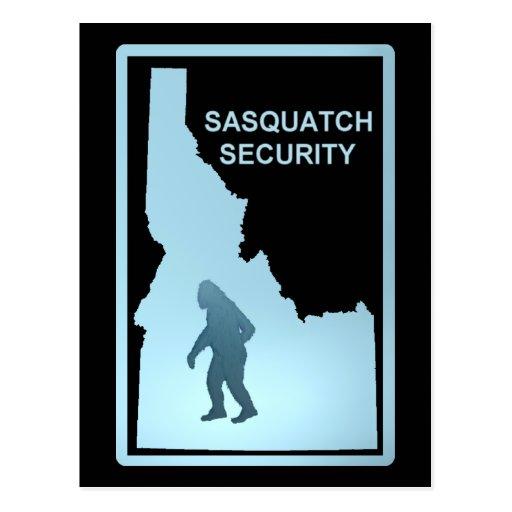 Sasquatch Security - Idaho Postcard
