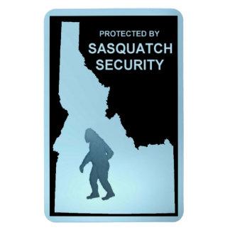 Sasquatch Security - Idaho Rectangular Photo Magnet