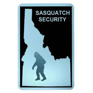 Sasquatch Security - Idaho Rectangular Photo Magnet