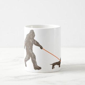 Sasquatch's Best Friend Basic White Mug