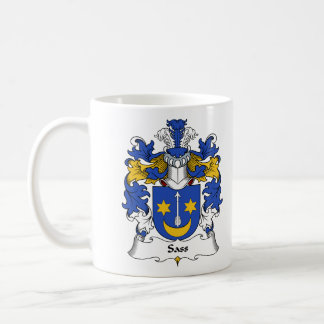 Sass Family Crest Coffee Mug