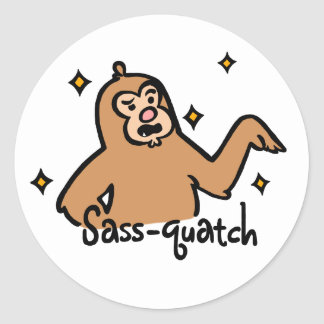 Sass-quatch Sticker