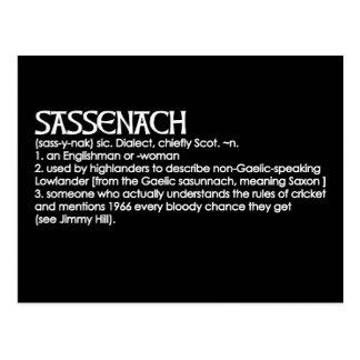 Sassenach Postcard