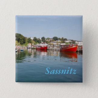 Sassnitz on Rügen 15 Cm Square Badge