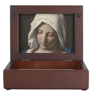 Sassoferrato - Madonna in prayer Keepsake Box