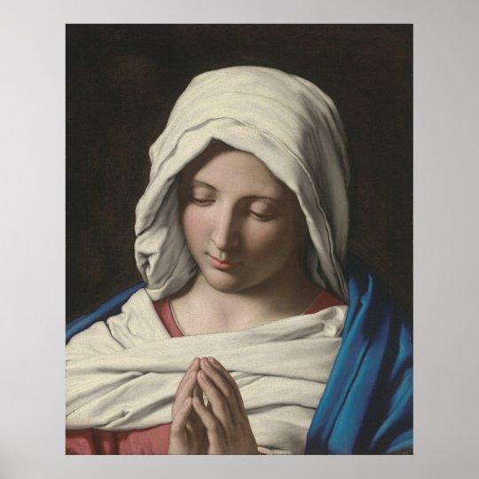 Sassoferrato - Madonna in prayer Poster