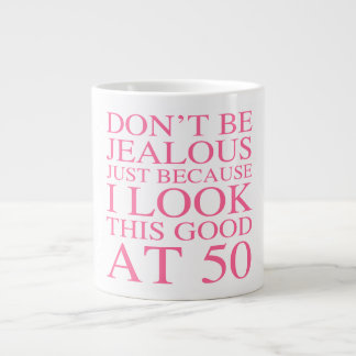 Sassy 50th Birthday For Women Jumbo Mug