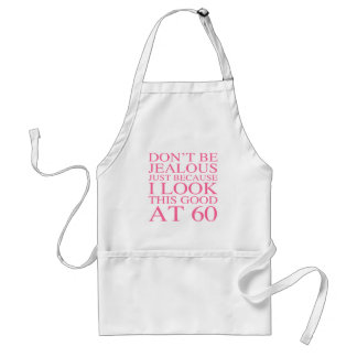 Sassy 60th Birthday For Women Standard Apron