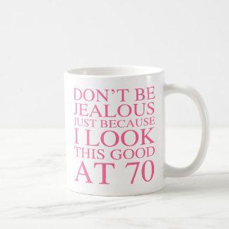 Sassy 70th Birthday For Women Basic White Mug