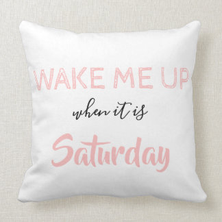Sassy and Cute Cotton Throw Pillow by Lili Rosie